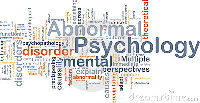 what is abnormal psychology what is Abnormal psychology definition is - a branch of psychology concerned with mental and emotional disorders (such as neuroses, psychoses, and mental retardation) and with certain incompletely understood normal phenomena (such as dreams and hypnosis.